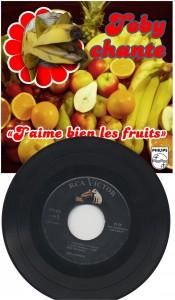 Vinyl - 45 tours - J'aime bien les fruits